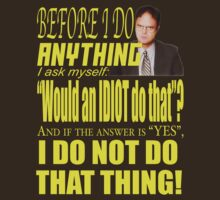 Dwight - Idiot by AdeGee