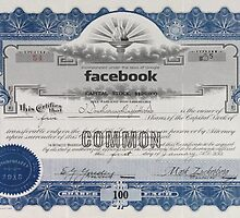 Facebook Stock Certificate by mobii