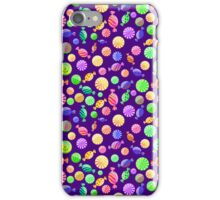 Round Candy Background iPhone Case/Skin