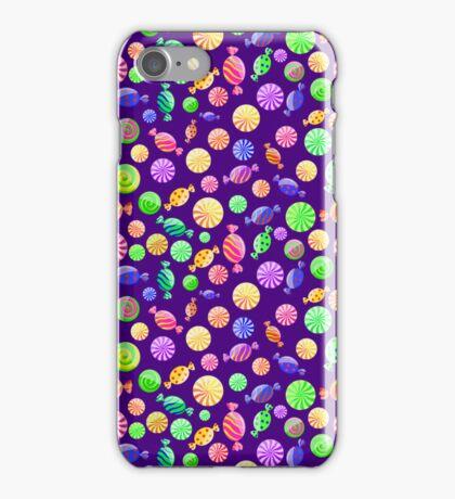 Round Candy Background iPhone Case/Skin