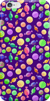 Round Candy Background by kotopes