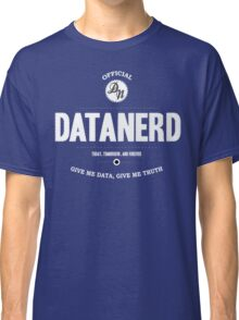 Data Nerd  Classic T-Shirt