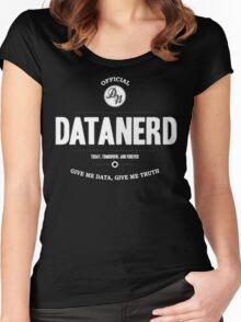 Data Nerd  Women's Fitted Scoop T-Shirt