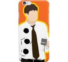 3 Hole Punch Jim iPhone Case/Skin