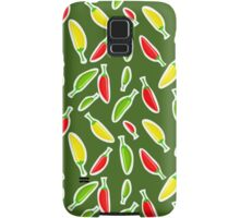 Red Peppers Pattern Samsung Galaxy Case/Skin