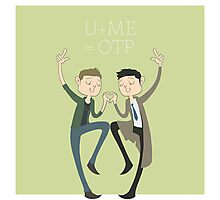 U+ME=OTP DESTIEL Photographic Print