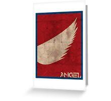 Minimalist Angel Greeting Card