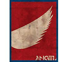 Minimalist Angel Photographic Print