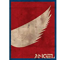 Minimalist Angel Photographic Print