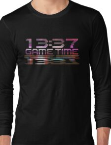 Future Game Time 13:37 Long Sleeve T-Shirt
