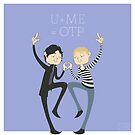 U+ME=OTP JOHNLOCK by nickelcurry