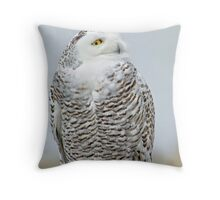 Early visitor Throw Pillow