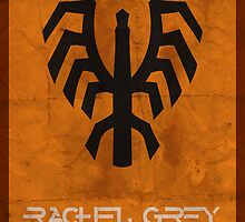 Minimalist Rachel Grey by Adam Grey