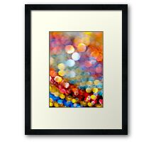 Sequins ......... Framed Print