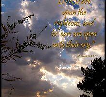 Psalm 34 Fifteen by Glenn McCarthy