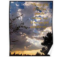 Psalm 34 Fifteen Poster