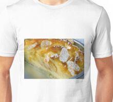 Apple Pie With Vanilla Cream and Almonds Unisex T-Shirt