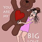 Big love by Annika Stromberg