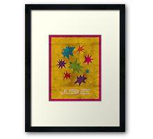 Minimalist Jubilee Framed Print