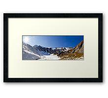Alpine Valley Framed Print