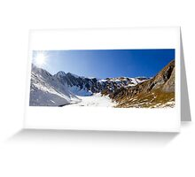 Alpine Valley Greeting Card