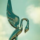 Packard Hood Ornament by Colleen Farrell