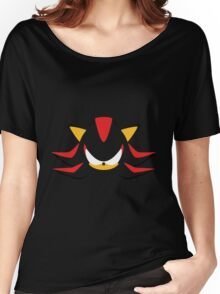 Shadow the Hedgehog Minimalistic Design Women's Relaxed Fit T-Shirt