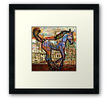 Baby Horse of the Apocayplse Framed Print