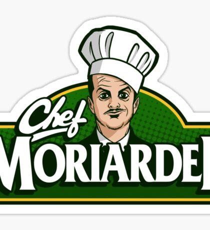 Chef Moriardee Sticker