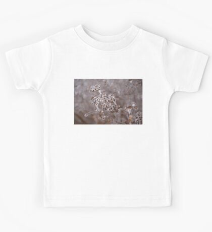 Of Weeds, Seed Pods and Crystals  Kids Tee