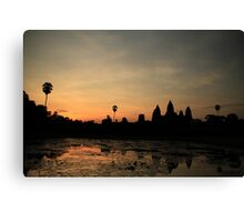 Angkor Wat at Dawn Canvas Print