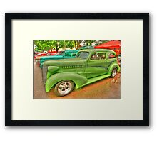 Best of the Oldies - HDR Framed Print