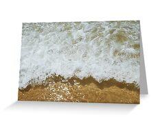 Sparkling ocean Greeting Card