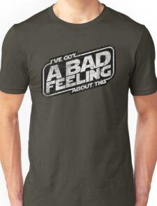 That Same Old Feeling (White on Black) Unisex T-Shirt