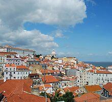 Lisbon cityscape by luissantos84