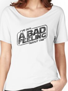 That Same Old Feeling (Black on White) Women's Relaxed Fit T-Shirt
