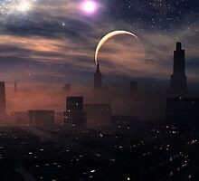 Evening Sandstorm by AlienVisitor