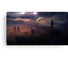 Evening Sandstorm Canvas Print