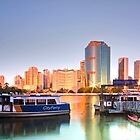 Before Brisbane Wakes - Brisbane Qld Australia by Beth  Wode