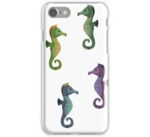Multiple Seahorses iPhone Case/Skin
