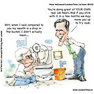 Newt&#x27;s New Job by Londons Times Cartoons by Rick  London