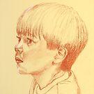 Kai. A handsome little boy. by Norah Jones