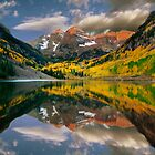 Autumn at Maroon Bells by Rondo93
