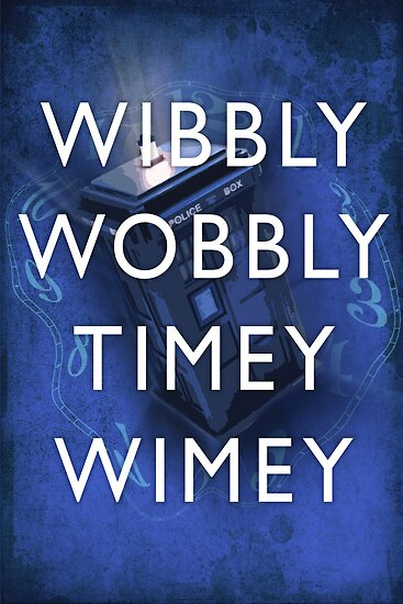 Doctor Who Timey Wimey by sweetlows
