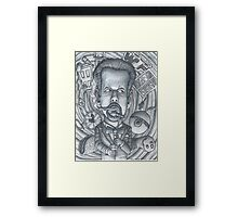 "Little Rock Comedian, Micheal ""Doc"" Davis Framed Print"