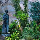 In the Garden at San Carlos Borremeo de Carmelo by Brendon Perkins