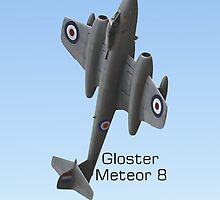 Gloster Meteor 8 by Geoffrey Higges