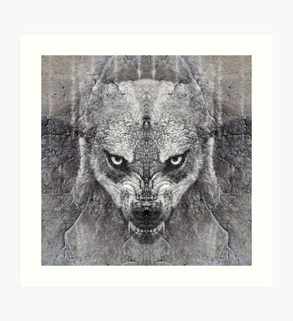 Canis Lupus II Art Print