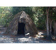 Native Dwelling at La Purisima Concepcion Photographic Print