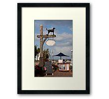 Black Dog Tavern Framed Print